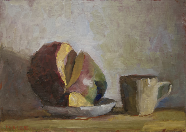 , 'A Mango and Cup,' 2018, Hofheimer Gallery