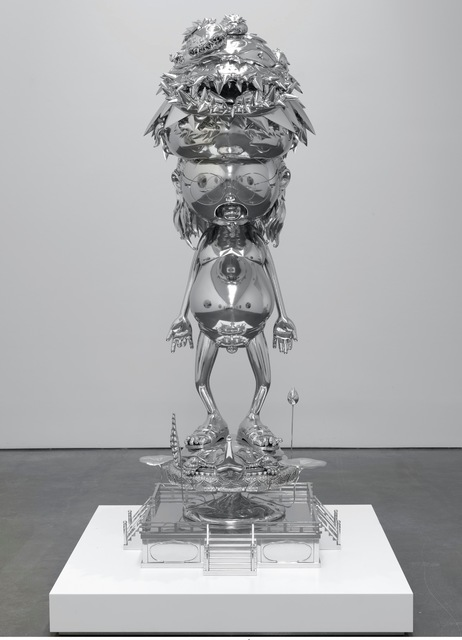 Takashi Murakami, 'The Birth Cry of a Universe', 2014, Sculpture, Acrylic and gold leaf on canvas, Gagosian