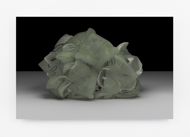 , 'Cabbage Head (Energy Sponge),' 2015, bitforms gallery