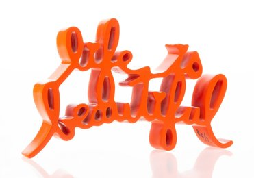 Life is Beautiful (Orange)