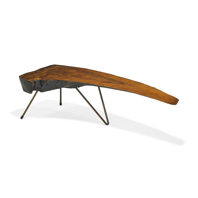 Carl Auböck, 'Rare coffee table with bent-leg construction, Austria', Rago