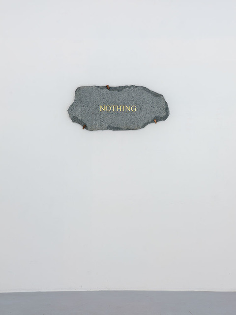 , 'Nothing,' 2018, Michel Rein Paris/Brussels