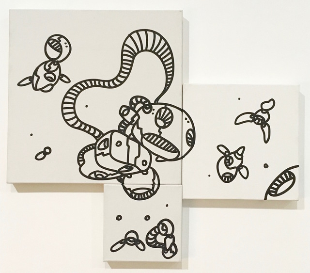 , 'Untitled Triptych,' 2013, Catherine Ahnell Gallery