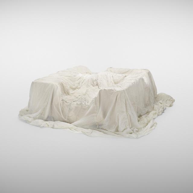John Chamberlain, 'sofa', c. 1970, Design/Decorative Art, Suede over urethane foam, nylon parachute, canvas, Rago/Wright