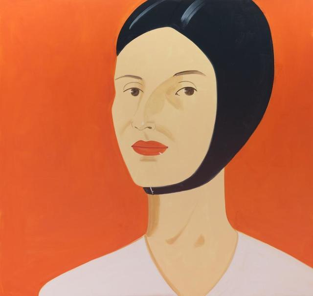 Alex Katz, 'Ada in Bathing Cap', 2012, Vertu Fine Art