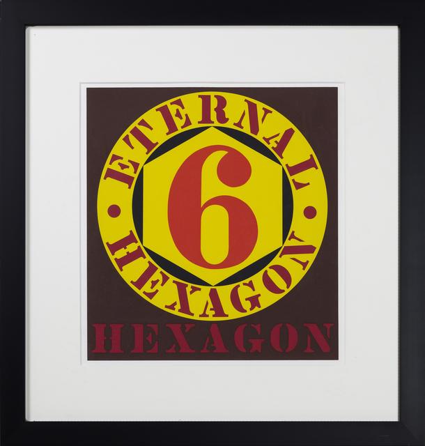 , 'Eternal Hexagon, from the 10 works by 10 painters portfolio,' 1964, RUDOLF BUDJA GALLERY