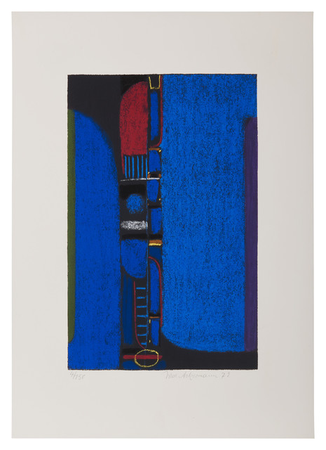 , 'Überbrückte Kontinente,' 1972, Bode Gallery