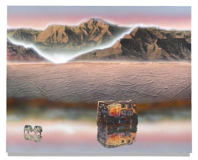 , 'Plateau (Study),' 2018, Galerie Huit