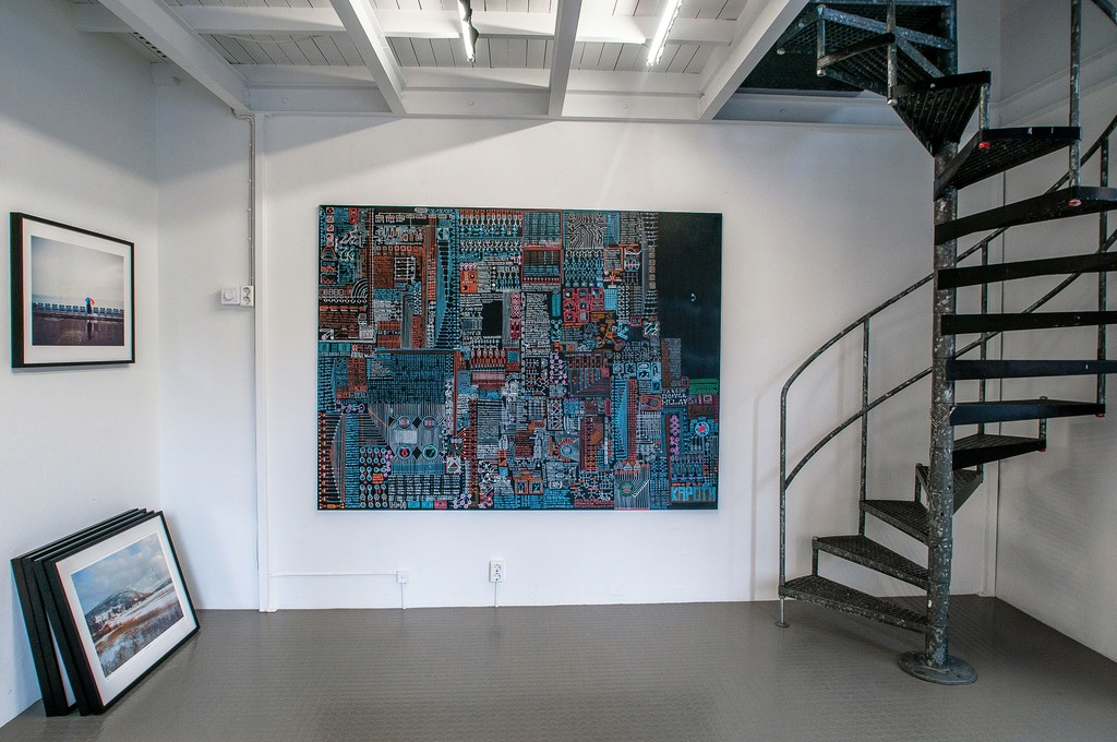 Works by Kapoth, Motherboard and Lola Akinmade, Nice.