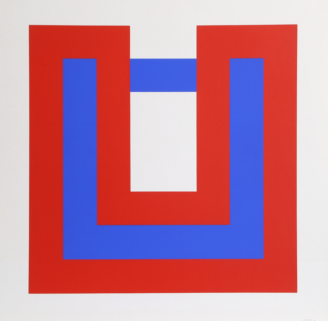 Bob Bonies, 'Composition Red and Blue I ', 1970, RoGallery