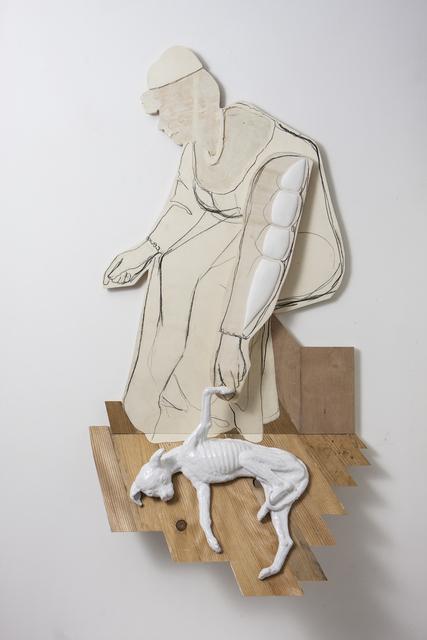, 'Study. Lady with Dog,' 2017, Harmony Art Gallery