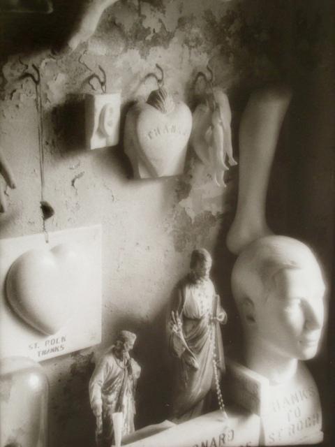 , 'St Roch., Head and Heart,' 1997, Paraphé