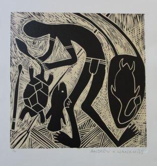 , 'The Turtle Hunter ,' 1999, Rebecca Hossack Art Gallery