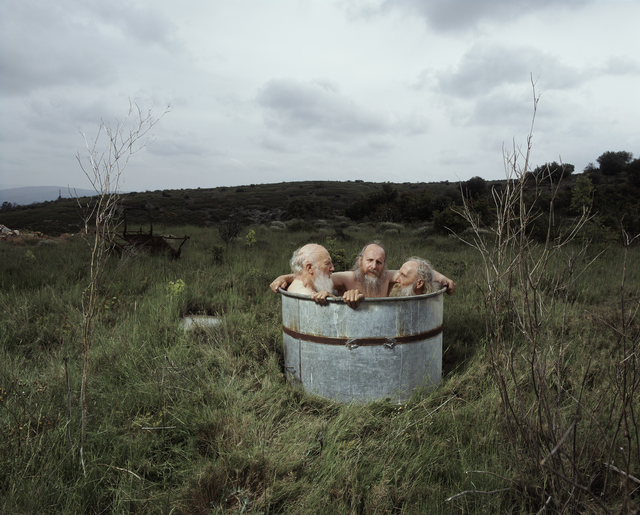 , 'Brothers in tub,' 2009, Van der Mieden Gallery