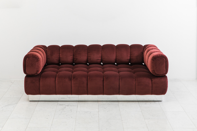 Awesome Todd Merrill Jumbo Tufted Sofa 2018 Available For Sale Creativecarmelina Interior Chair Design Creativecarmelinacom