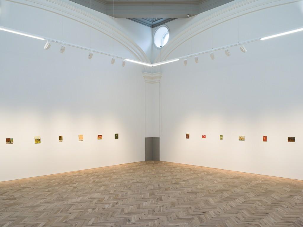 Installation view of Andrew Cranston: But the dream had no sound Ingleby, Edinburgh, 27 October – 21 December, 2018