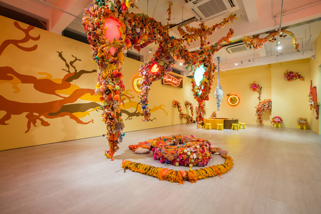 , 'Lizard Tail,' 2016-2017, Singapore Art Museum (SAM)