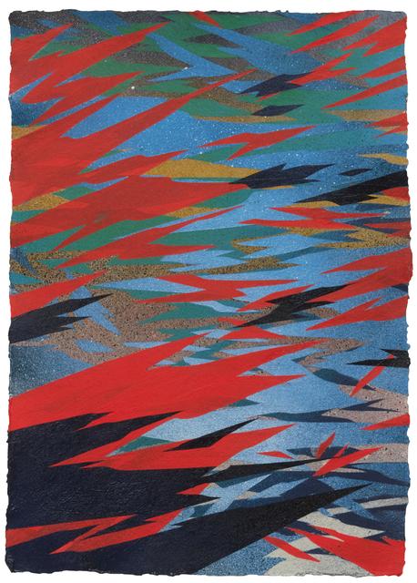 , 'Watershed 3 (Los Angeles River),' 2017, DENK Gallery