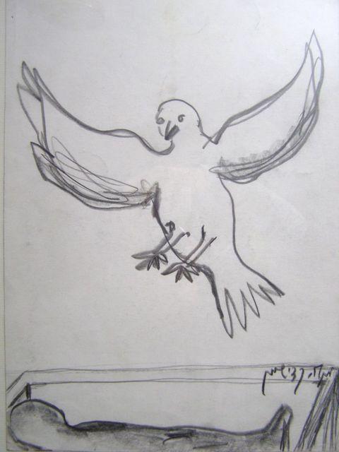 Menashe Kadishman, 'Peace Dove', ca. 1999, Heaven Art Gallery