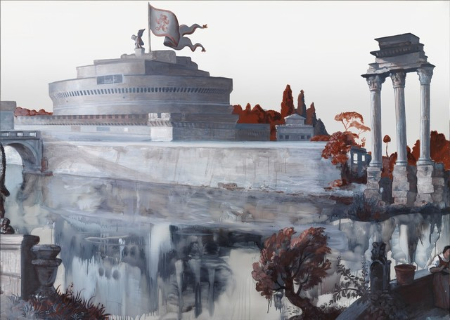, 'Panorama of Rome,' 2012, Gagosian