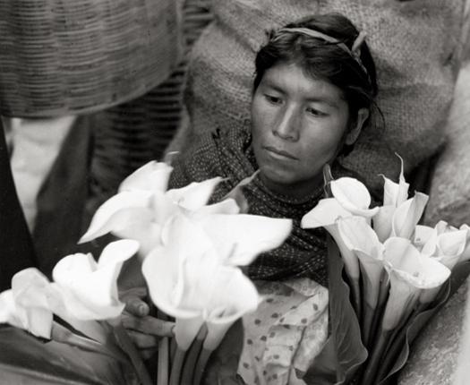 , 'Lily Woman, Oaxaca, Mexico,' 1956, Robert Mann Gallery
