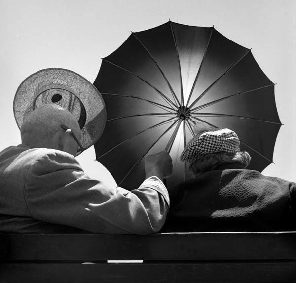 , 'Seeking Shade,' 1948, Galerie Thierry Bigaignon