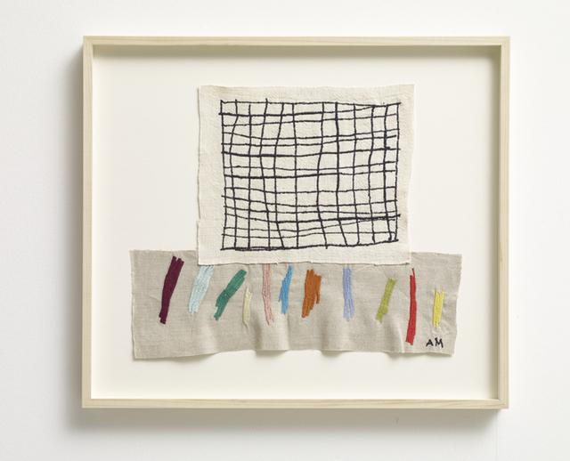 , 'Grid 11, Cadmium Red,' 2017, Winston Wächter Fine Art
