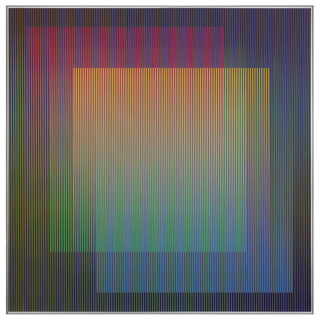 Carlos Cruz-Diez, 'Physichromie 1756 B', 2012, La Patinoire Royale / Galerie Valerie Bach