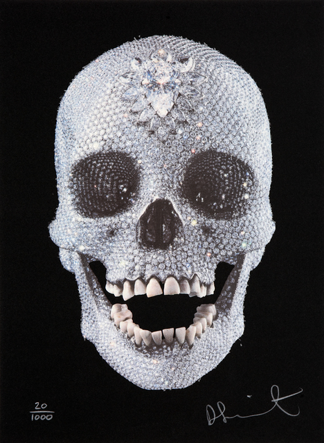 , 'For The Love of God - Black - Skull Face Front (diamond-dust),' 2009, Other Criteria