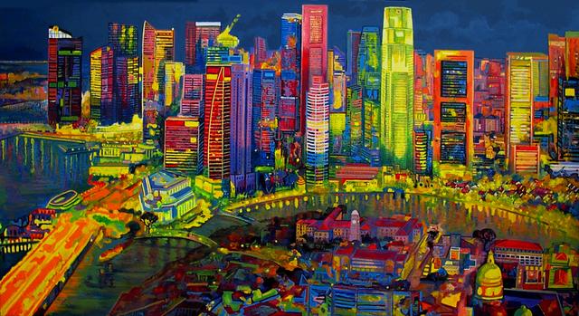 , 'Map of Singapore,' 2014, Barnadas Huang