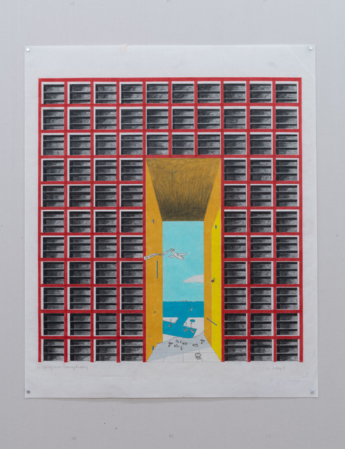 Laurinda Spear, 'The Helmsley Centre: Gateway Building', 1981, Nina Johnson