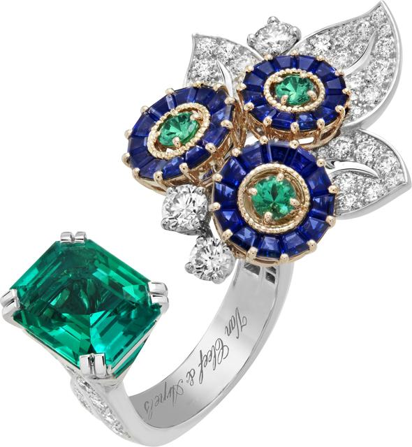 , 'Flora Between the Finger Ring. Unique piece, High Jewelry Collection,' 2019, Van Cleef & Arpels