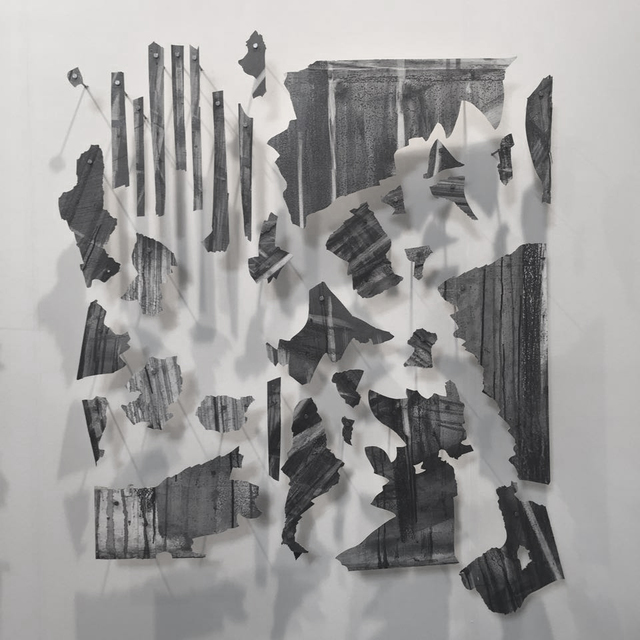 , 'Untitled (fragments of the mural Desde el fondo del tiempo),' 2016, Arróniz Arte Contemporáneo