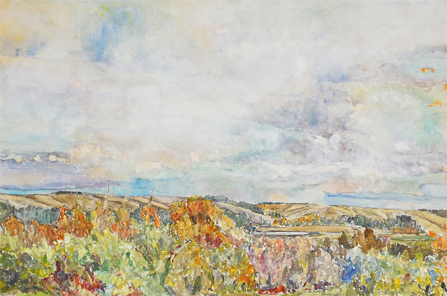 , 'Hills in Fall (AC-019-87),' 1987, Han Art