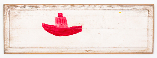 , 'red. boat. stop.,' 2016, Conduit Gallery