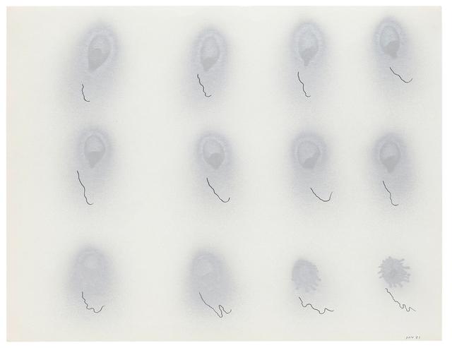 Michael Venezia, 'Untitled MVNY #836', 1971, Häusler Contemporary