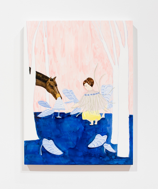 , 'Horses for the Trees,' 2018-19, Denny Dimin Gallery