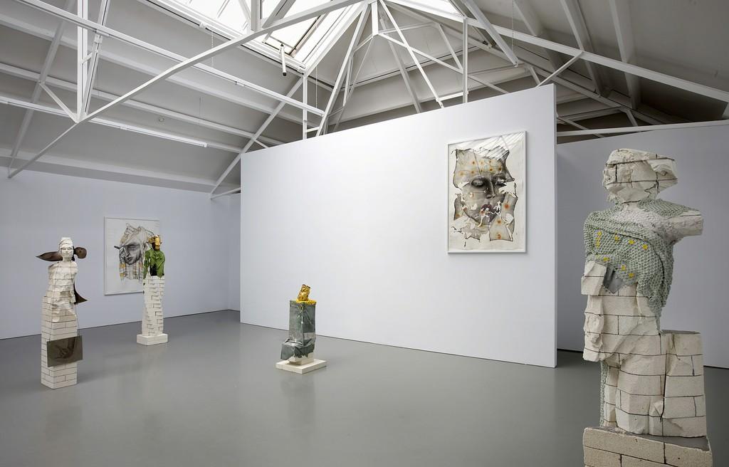 Matthew Monahan, exhibition overview at Galerie Fons Welters 2011. Photo: Gert Jan van Rooij.