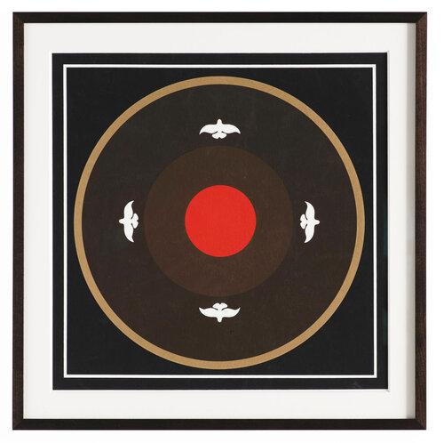 Thomas W. Benton, 'Square Abstract #2', 1970, Posters, Silkscreen Print, Gonzo Gallery