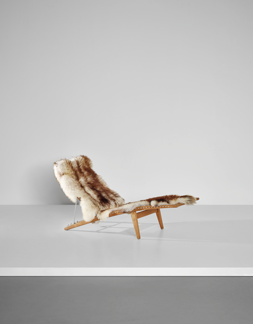 , 'Early Adjustable Lounge Chair, model n° JH524,' ca. 1959, 18 Davies Street Gallery