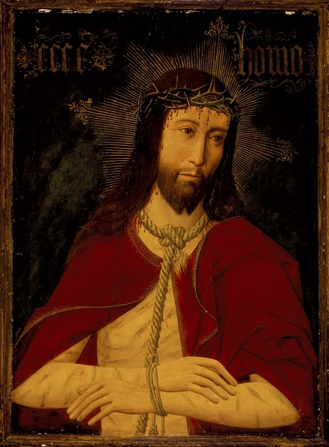 Master of Osma, 'Christ with the Crown of Thorns', ca. 1500, Los Angeles County Museum of Art