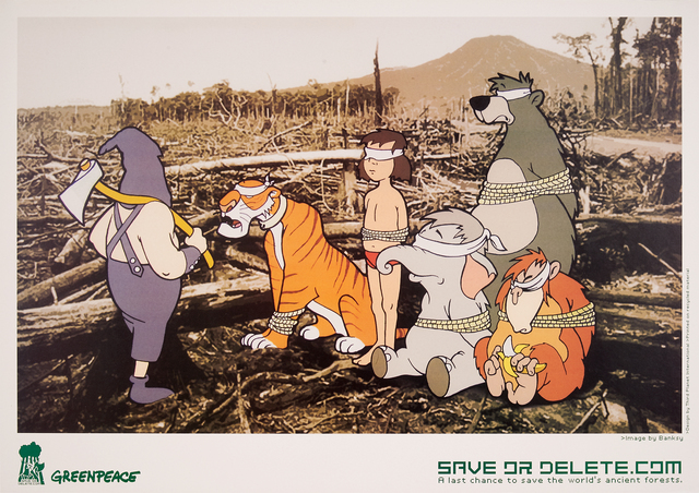 Banksy, 'Save or Delete (Greenpeace)', 2002, Rago/Wright
