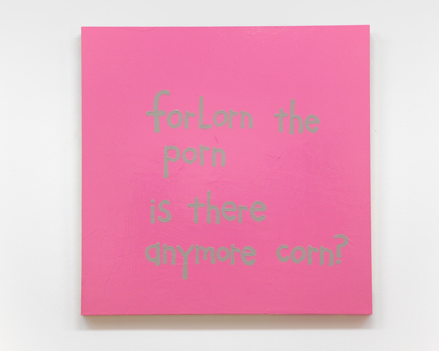 , 'Forlorn the Porn,' 2016, Fleisher/Ollman