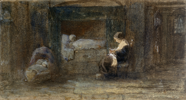 , 'The Sick Room,' ca. 1895, Jill Newhouse Gallery