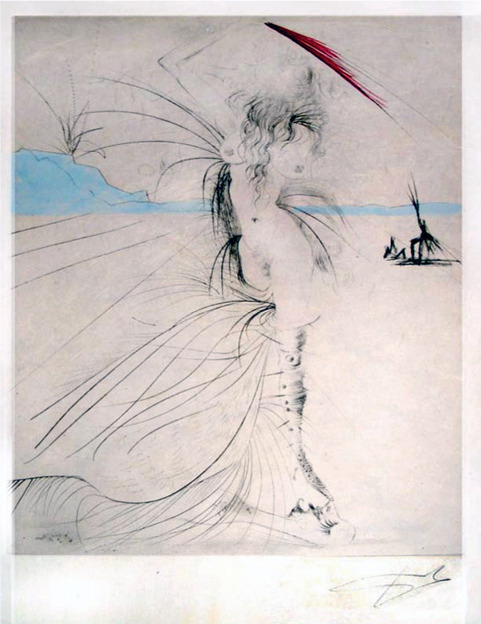 Salvador Dalí, 'Les Aigrettes (The Egrets)', 1969, Puccio Fine Art