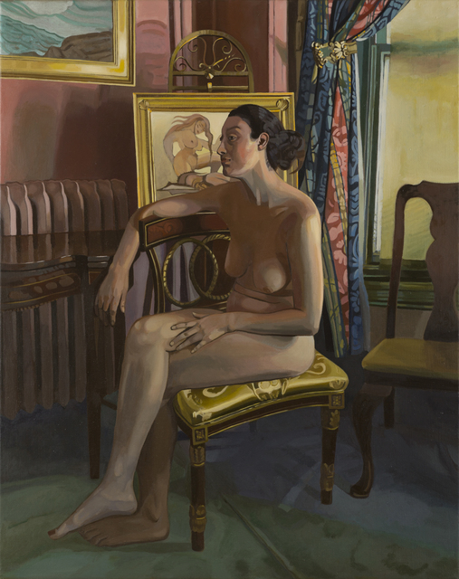 , 'Newbury Street Sitting,' 2016, Childs Gallery