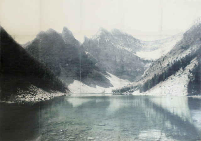, 'Lake Agnes,' 2013, Newzones