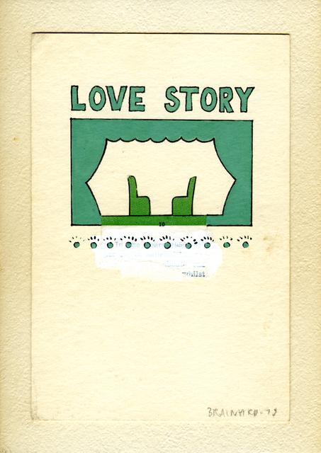 , 'Untitled (Love Story),' 1975, Tibor de Nagy