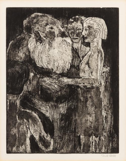 Emil Nolde, 'Wikinger (Vikings)', 1922, Print, Aquatint, Hindman