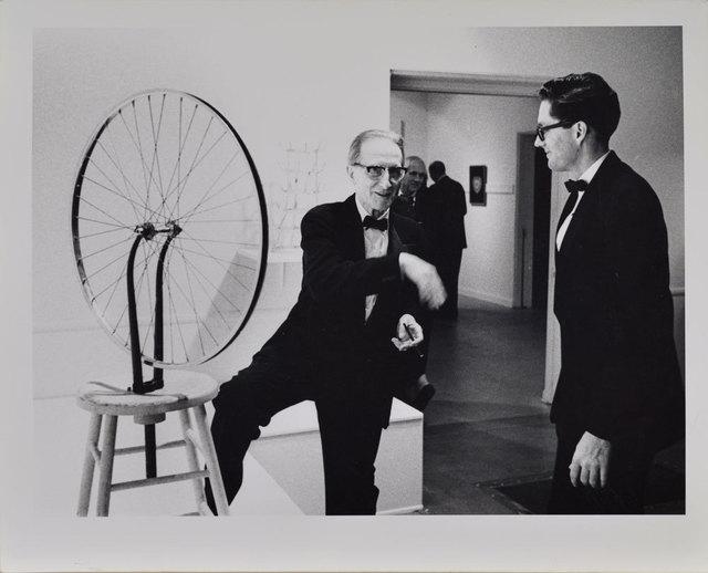 , 'Duchamp with Walter Hopps, Duchamp Retrospective, Pasadena Art Museum,' 1963, Robert Berman Gallery